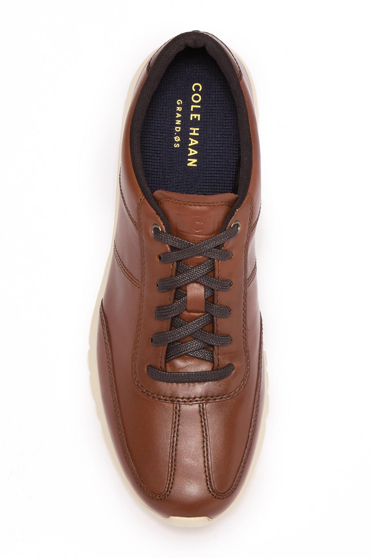 Cole Haan Leather Grand Crosscourt