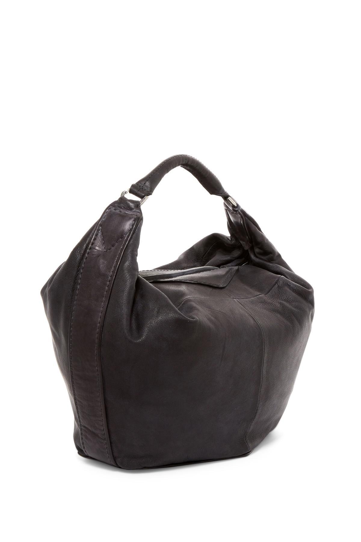 827f1f61864c Lyst - Liebeskind Berlin Tumba Washed Leather Hobo in Black