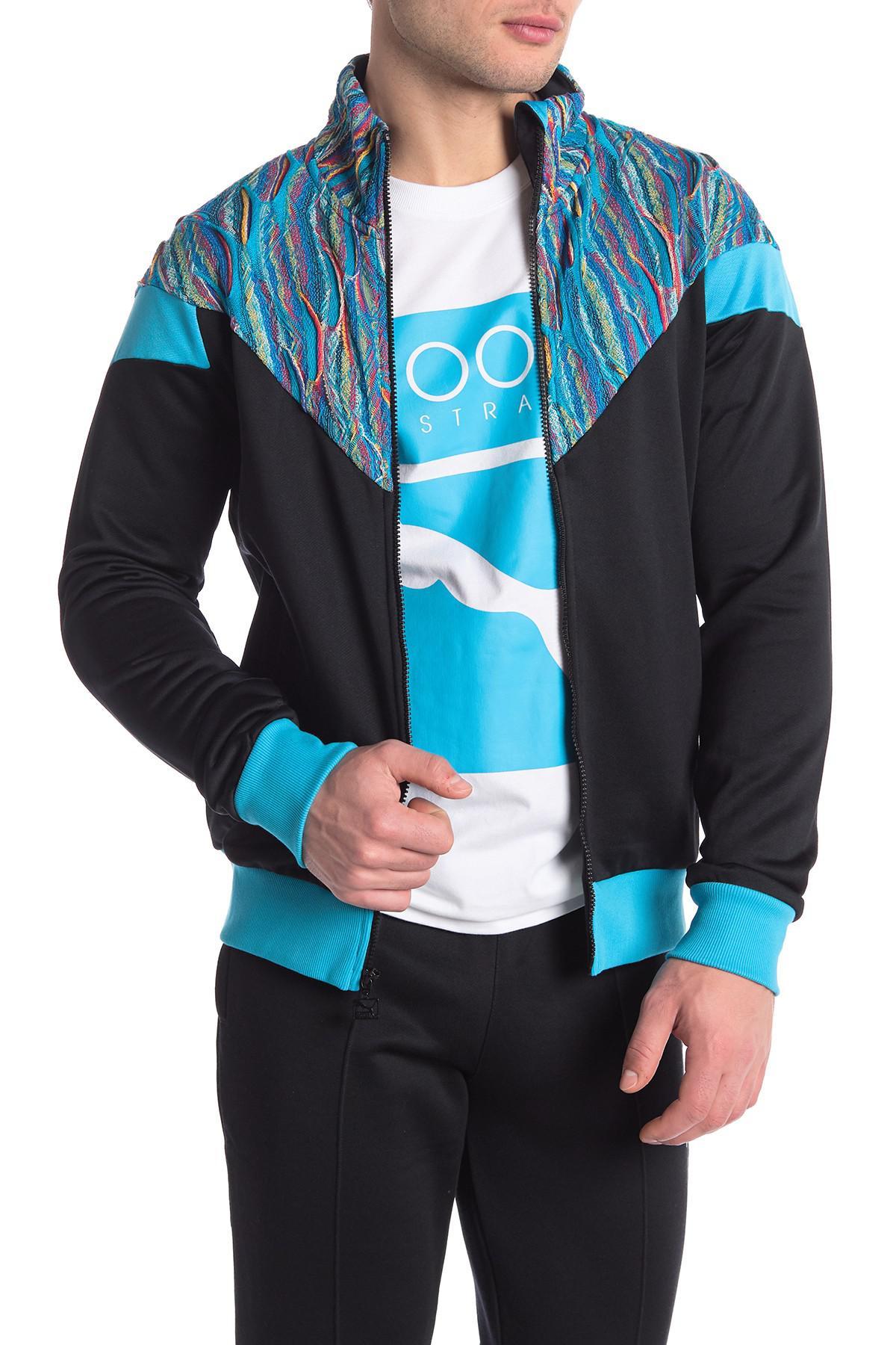 aa1f3b74e PUMA Blue X Coogi Track Jacket for men