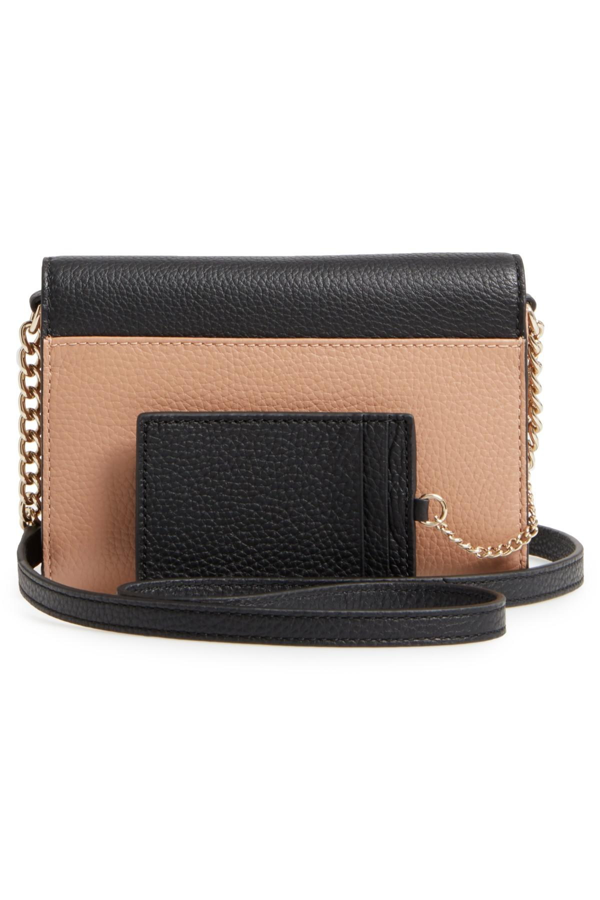 dc4dfd0f47d9 Lyst - Kate Spade Jackson Street - Iva Leather Crossbody Bag in Black