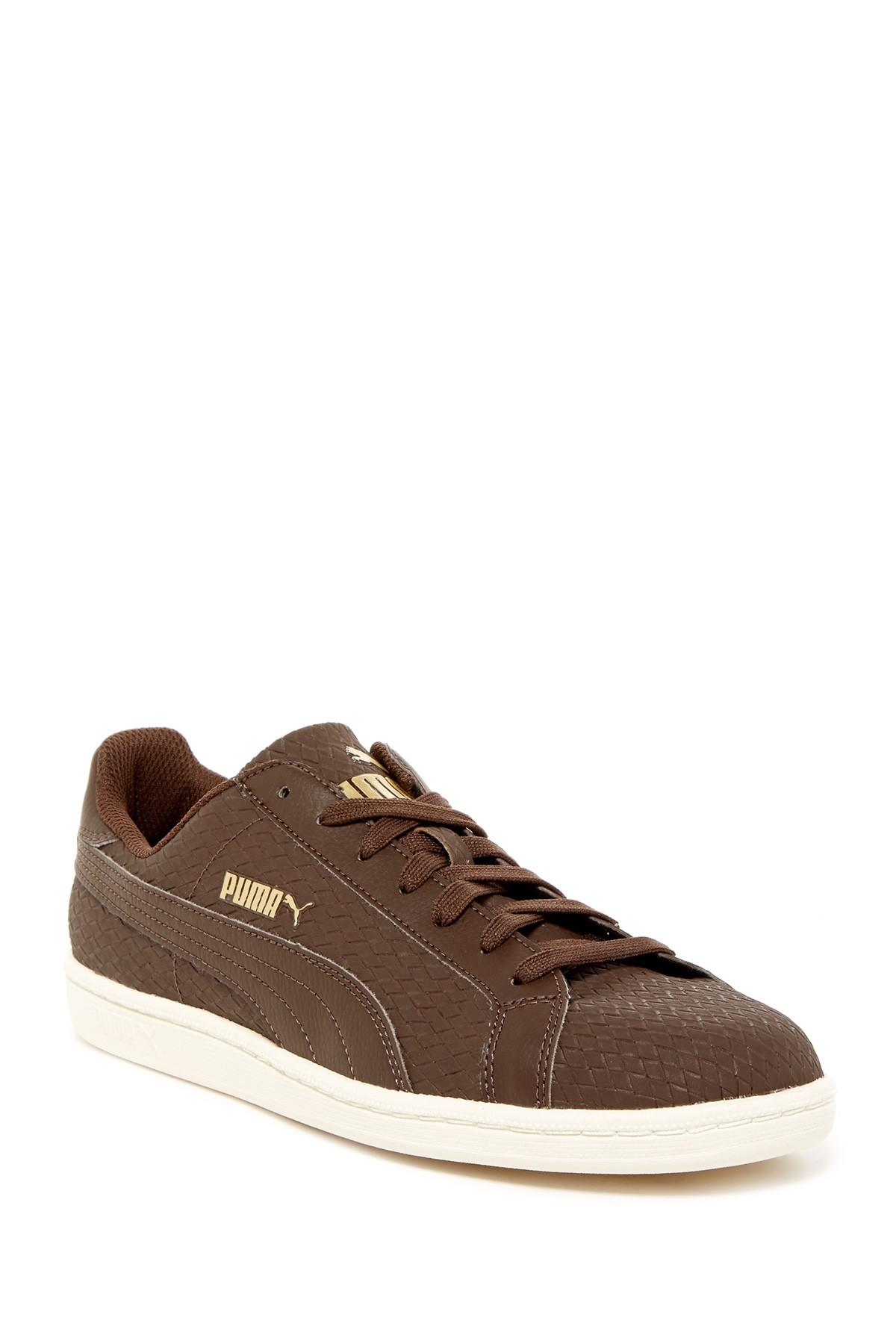Lyst Puma Smash Woven Sneaker In Brown For Men