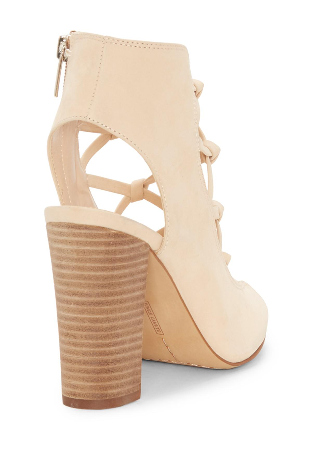 138fbd55691a Lyst - Vince Camuto Stesha Sandal (women) in Natural