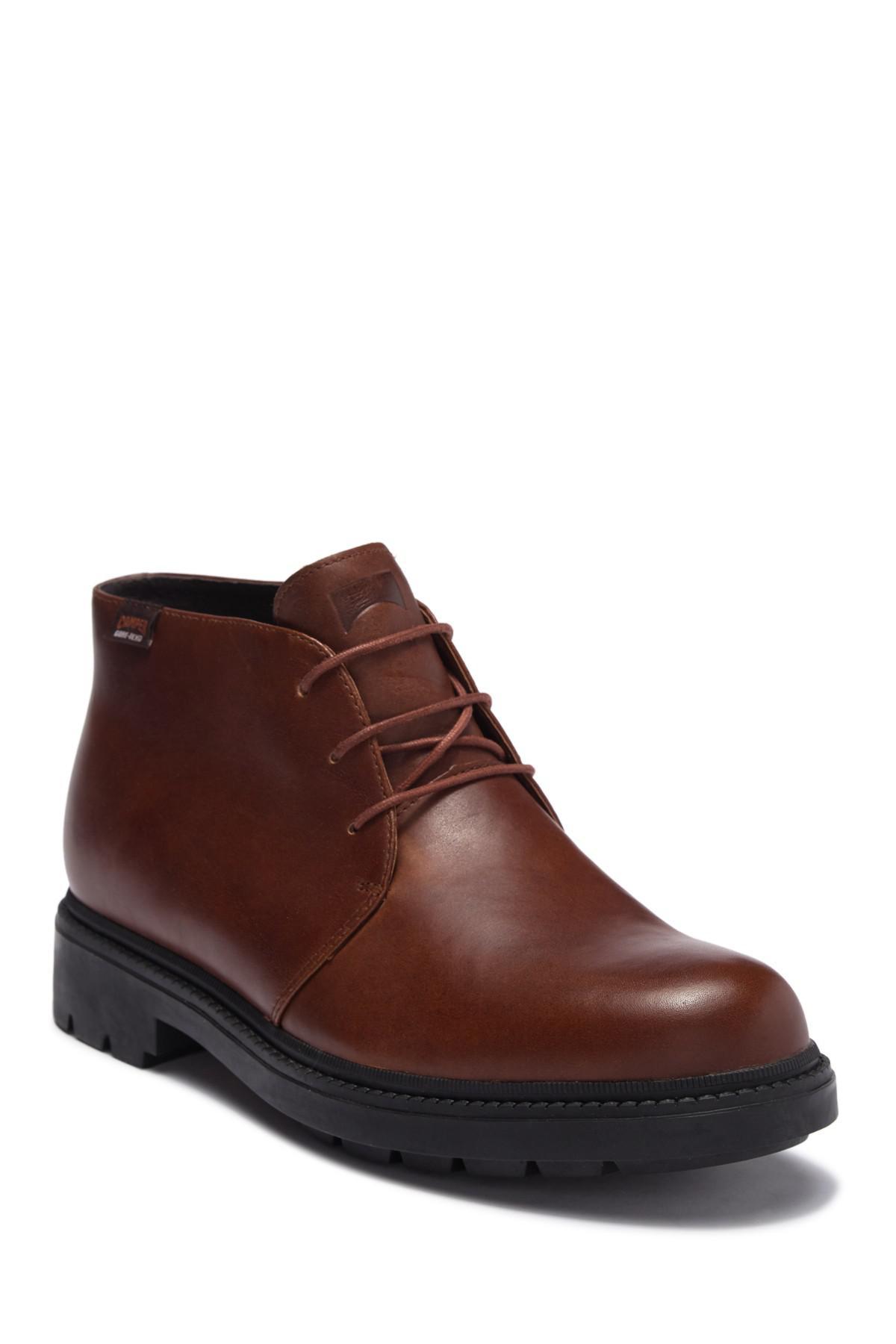 CAMPER Hardwood Leather Chukka Boot TZEt4qw13Q