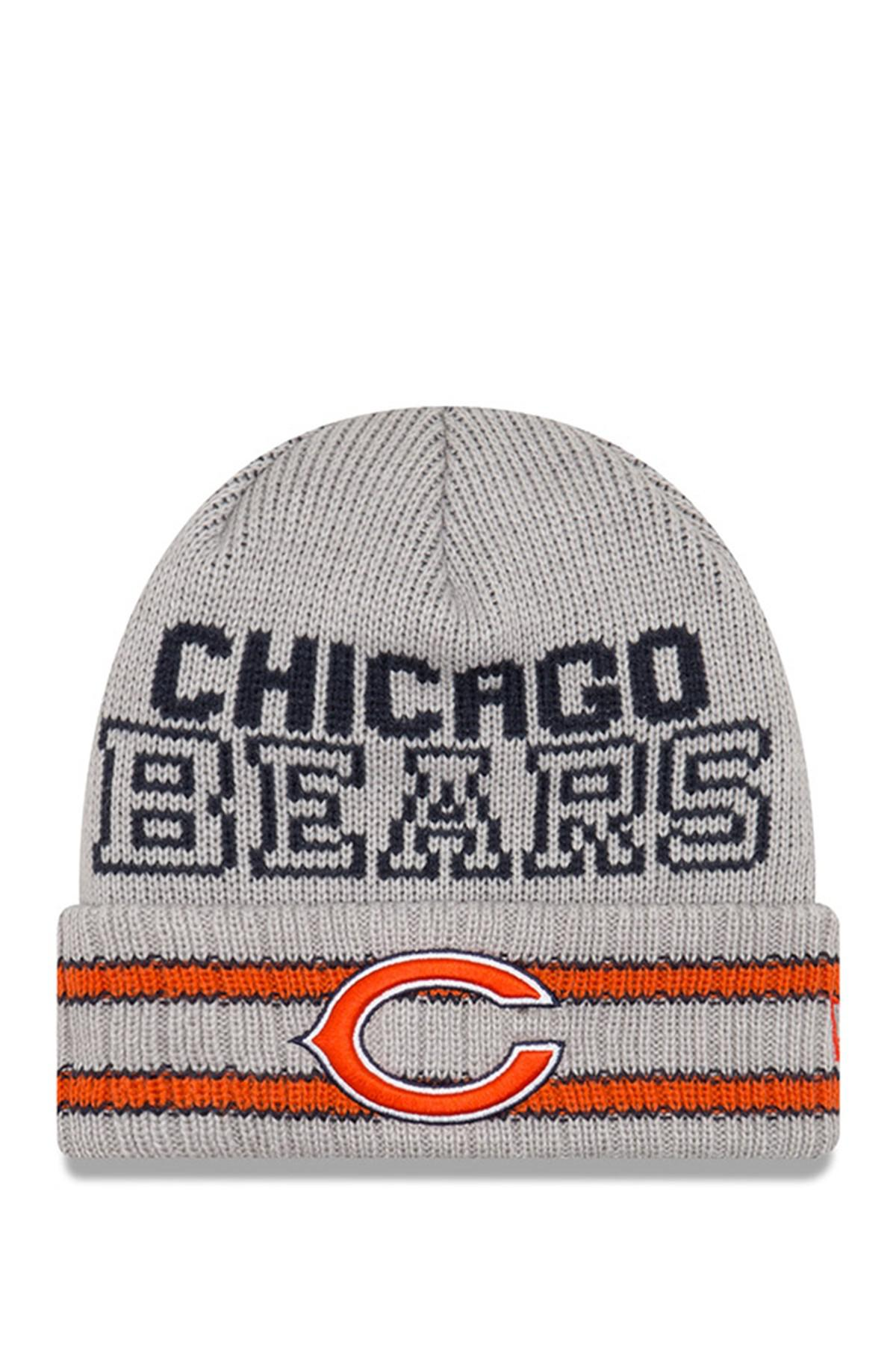 b9a1bab91b1 Lyst - KTZ Nfl Chicago Bears Crisp   Cozy Beanie in Gray for Men