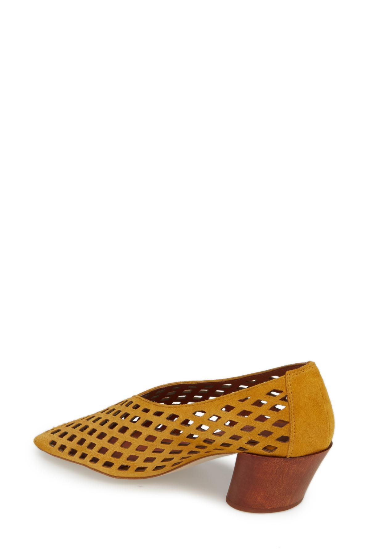 f24af8649fff Jeffrey Campbell - Brown Vanira Vamp Cutout Pump (women) - Lyst. View  fullscreen