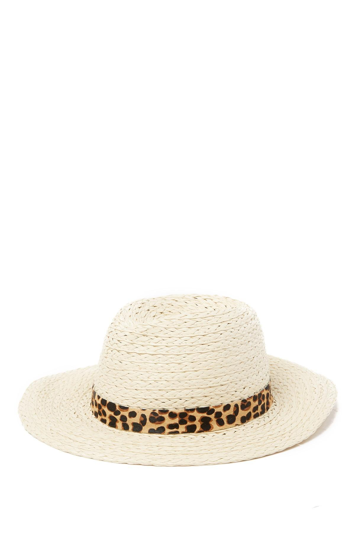 8e5301117 Women's Natural Genuine Pony Hair Banded Panama Hat