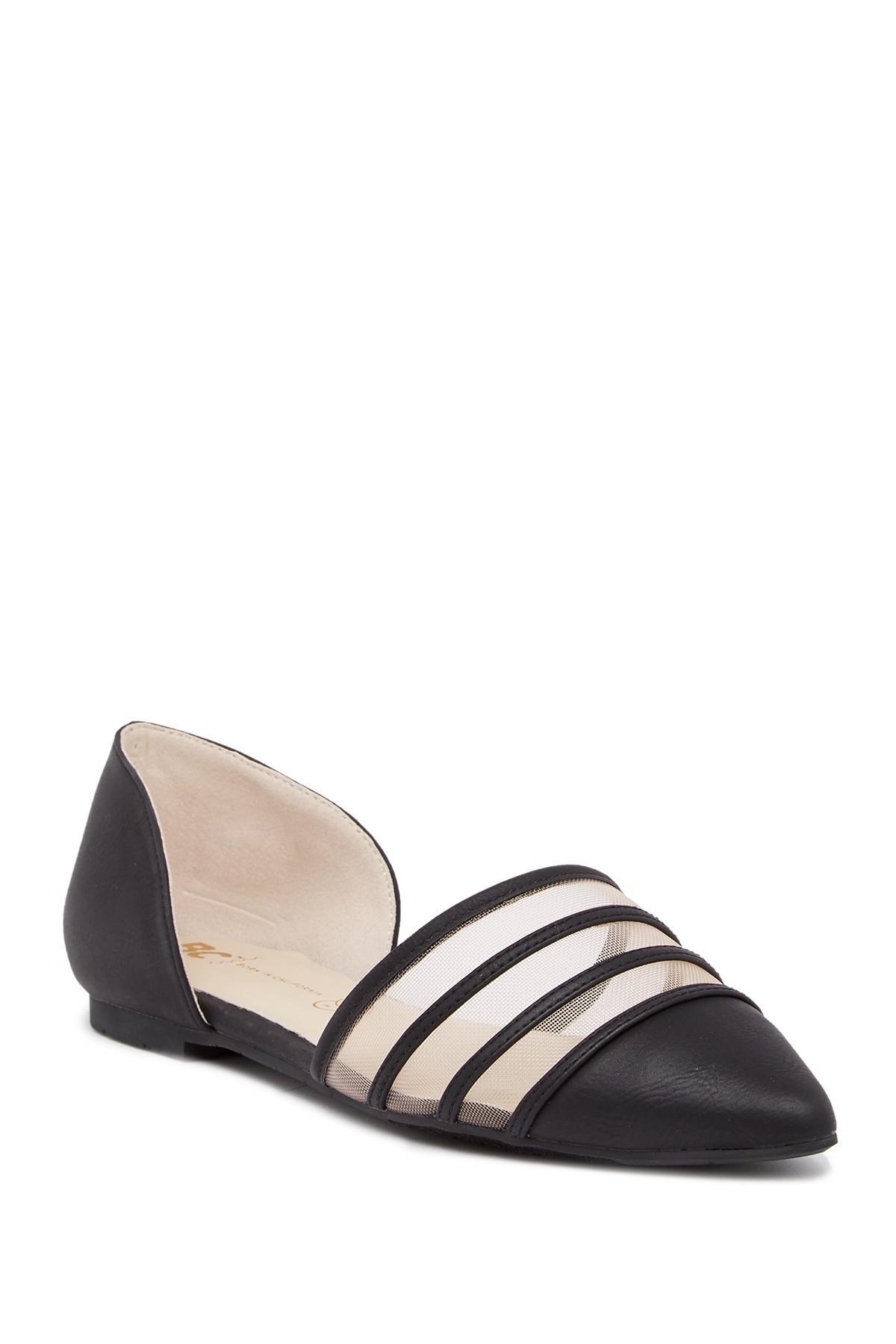 BC Footwear Wait A Minute d'Orsay Flat NrqjGdmKn