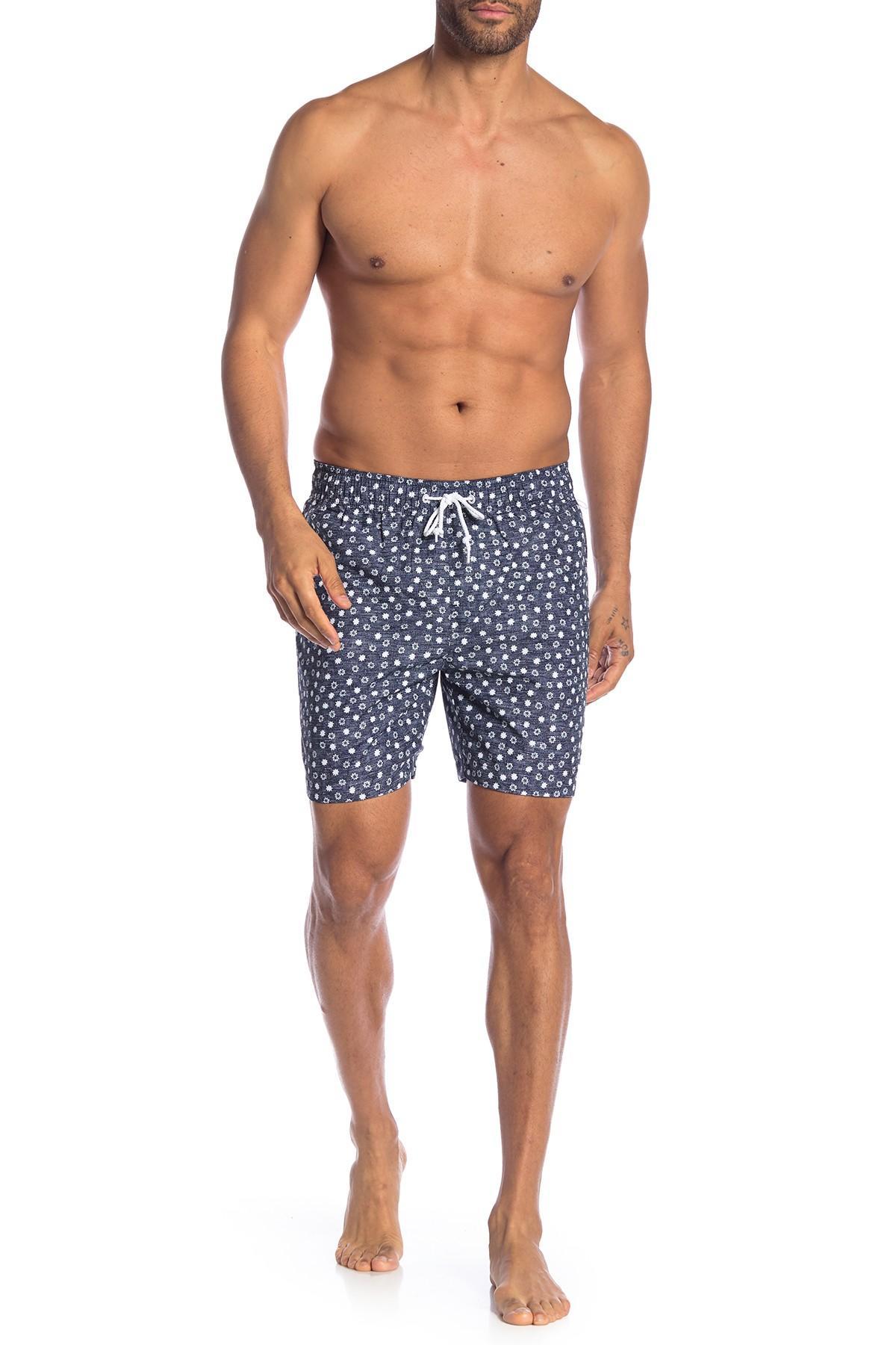 Silver Snowflakes Paper Holidays Mens Drawstring Elastic Waist Surfing Beach Board Shorts with Pockets