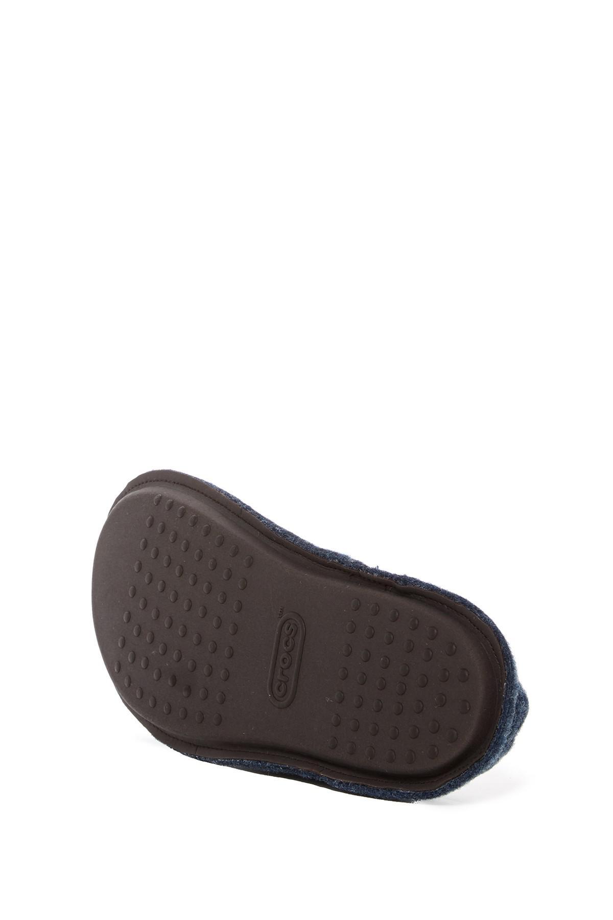 c87daf184c0a21 Lyst - Crocs™ Classic Faux Fur Slipper in Blue