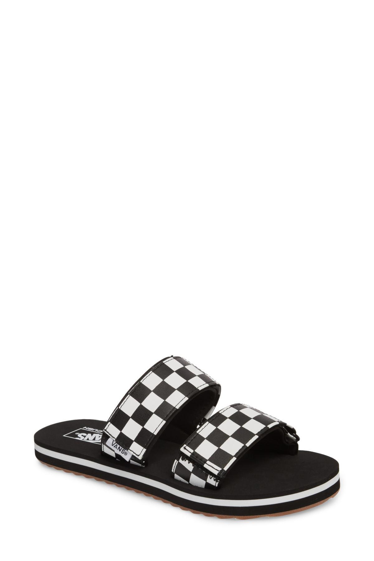 e80131b502f5 Lyst - Vans Cayucas Slide Sandal (women) in Black