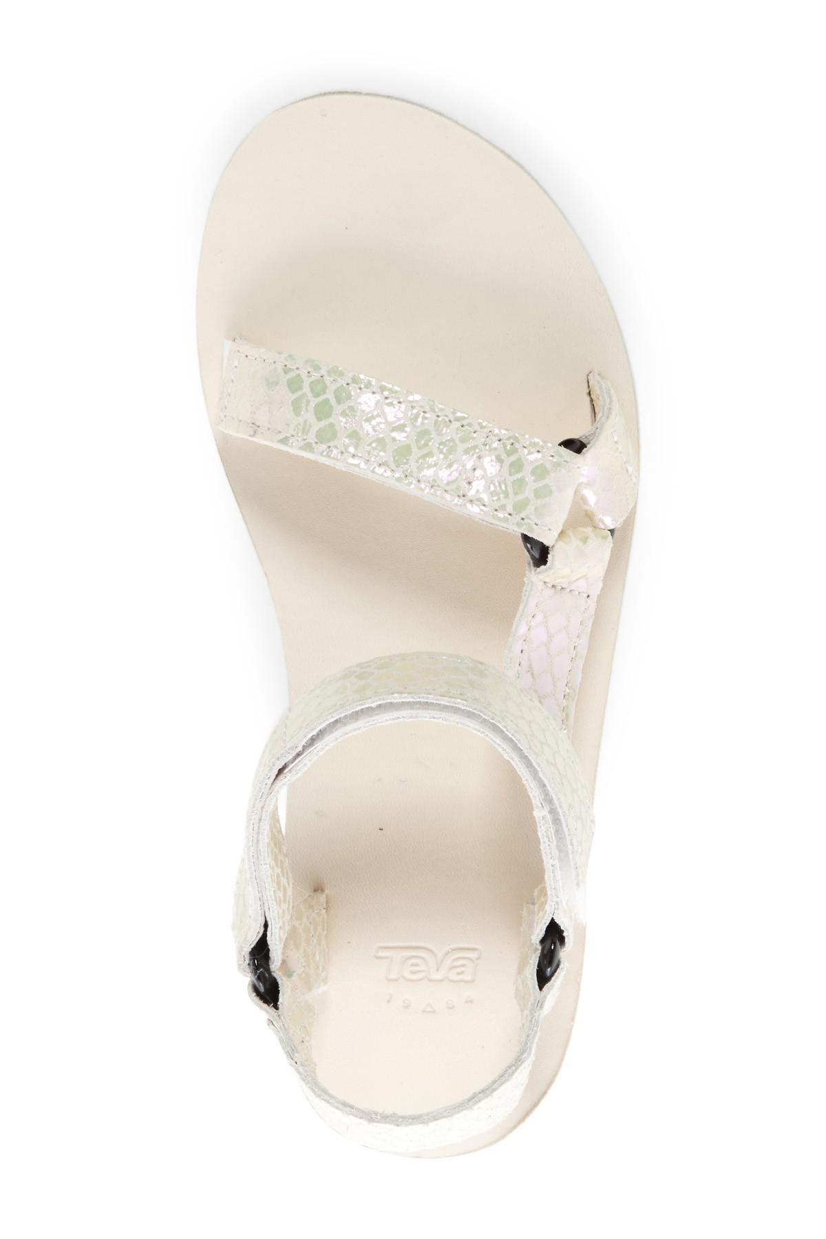 9e8f202cc0b Teva Multicolor Universal Flatform Iridescent Platform Sandal