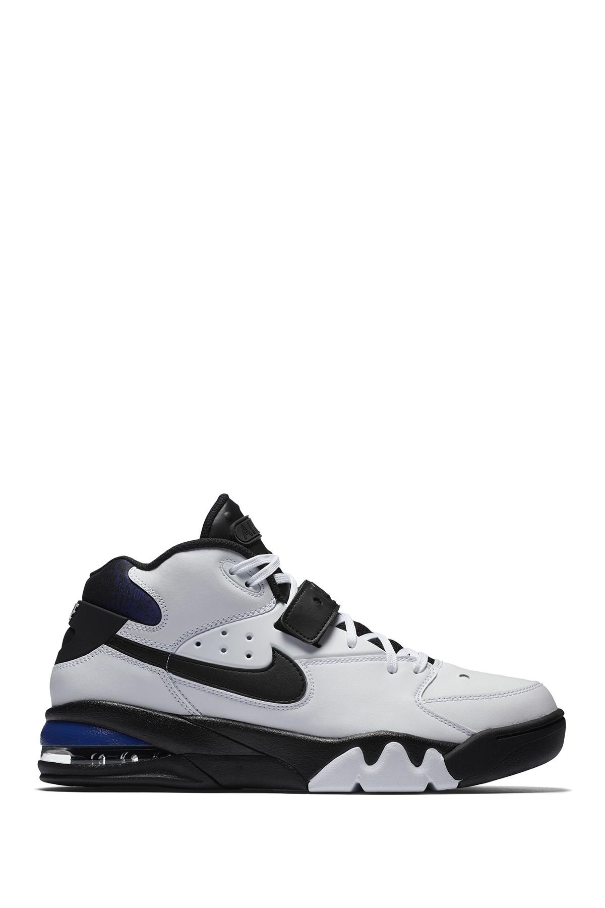 Nike Leather Air Force Max 93 Sneaker in Black for Men - Lyst
