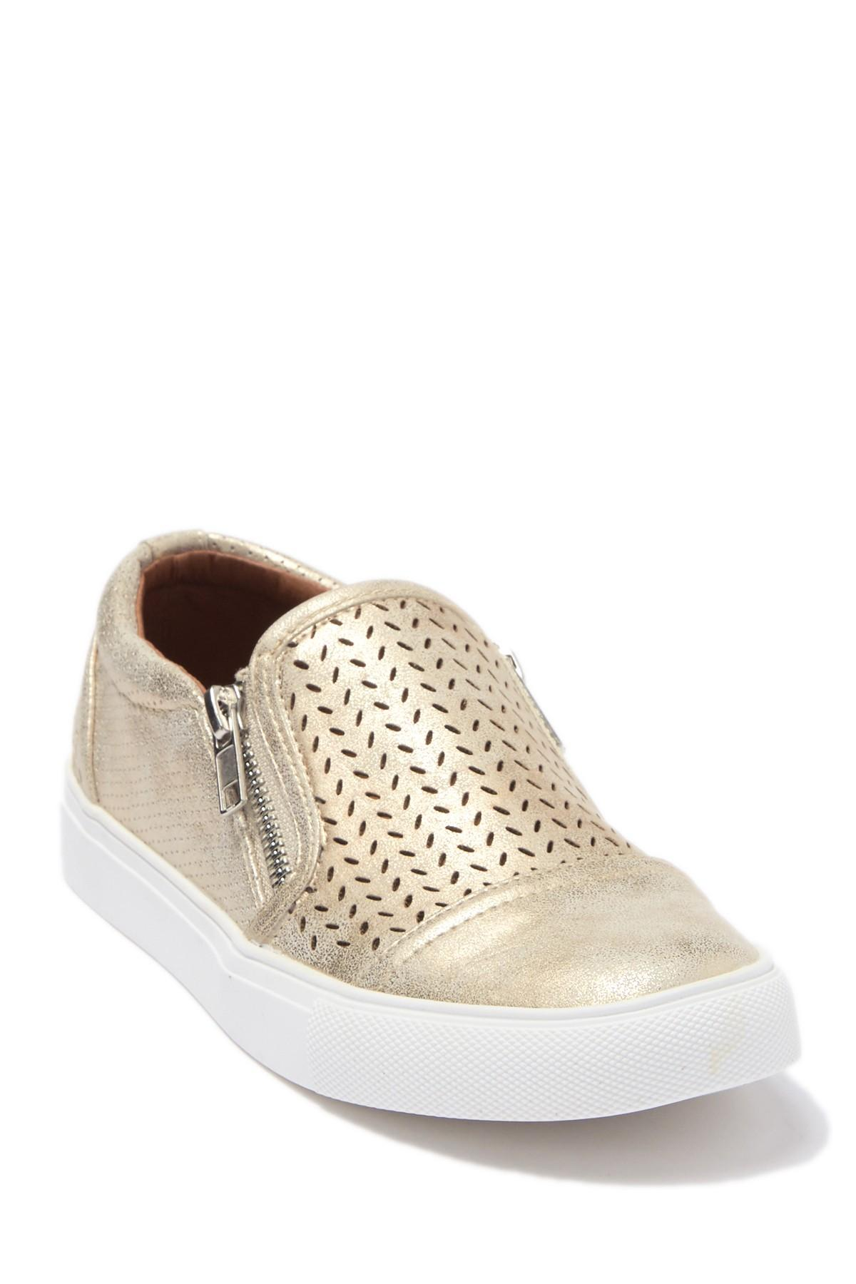 Report Alexa Perforated Zip Sneaker in