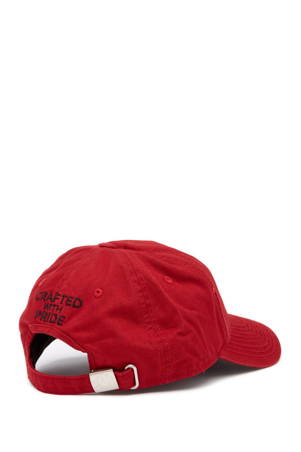650da590 True Religion - Multicolor Shoe String Logo Baseball Hat for Men - Lyst.  View fullscreen