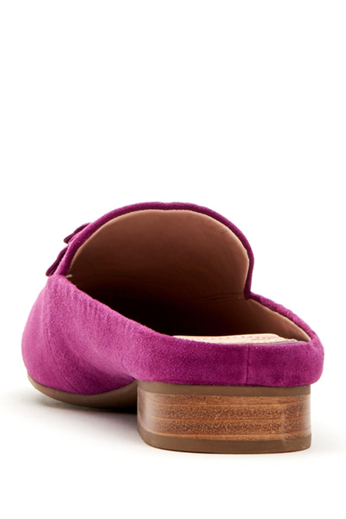 1363b75af5f Taryn Rose - Purple Blythe Rose Detail Mule - Lyst. View fullscreen