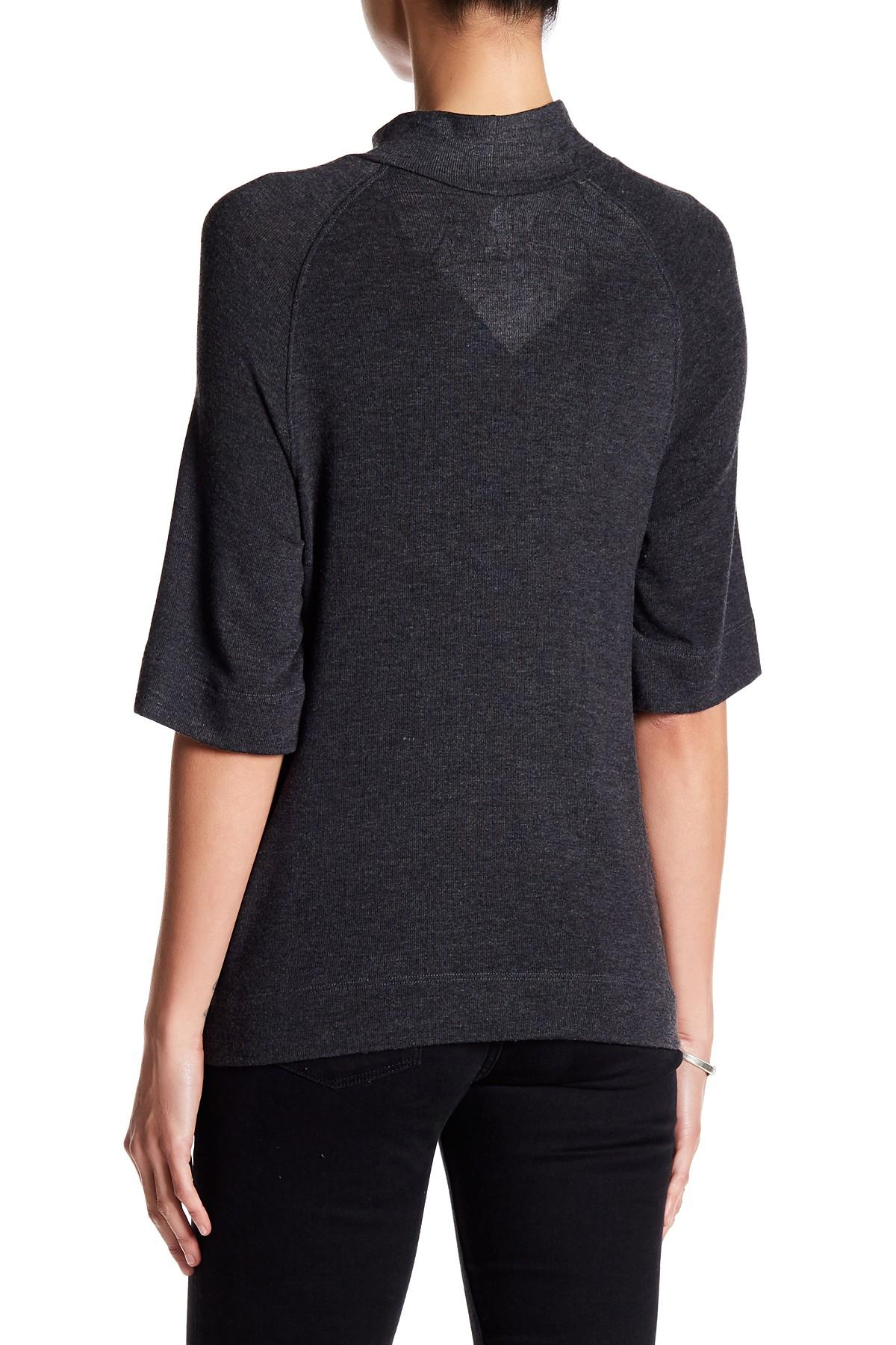 Go couture elbow length sleeve dye sweater lyst for Couture garments