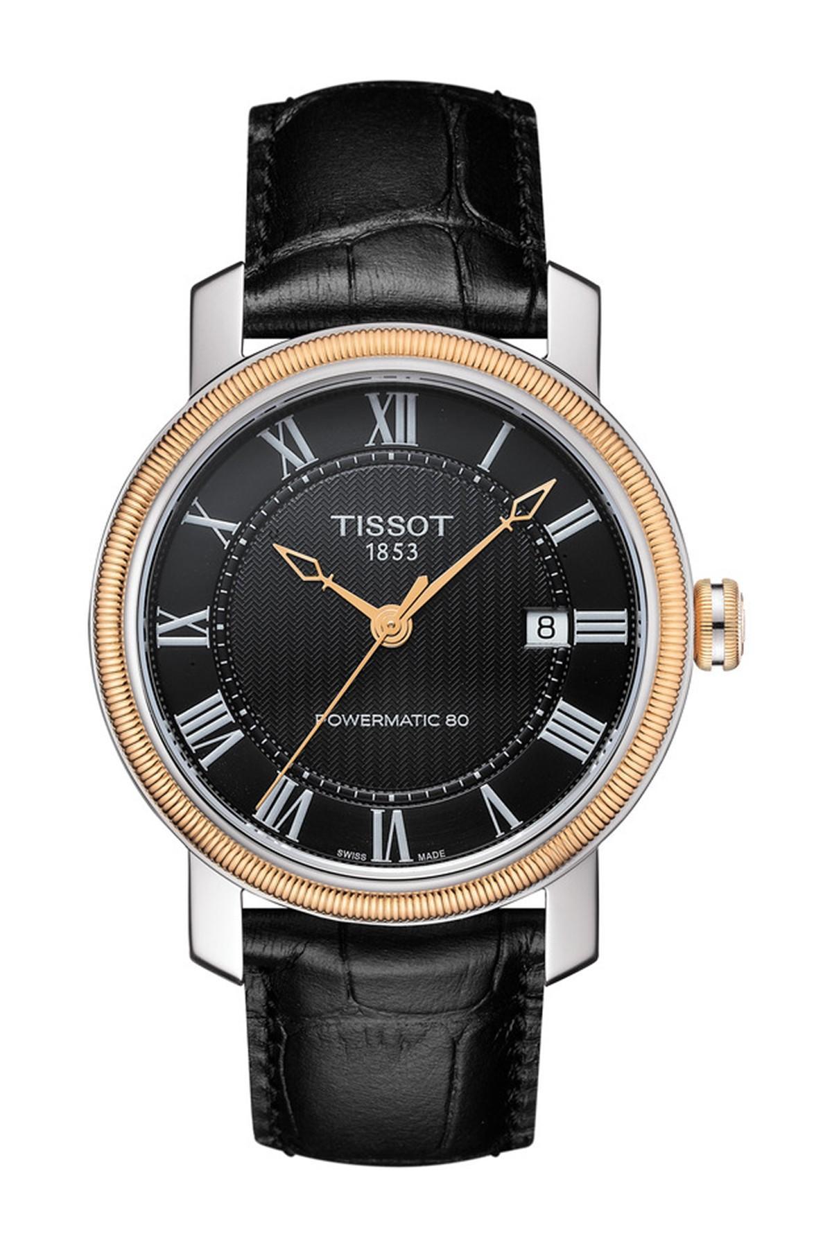 b58cbe372d7 Lyst - Tissot Men s Bridgeport Powermatic 80 Watch