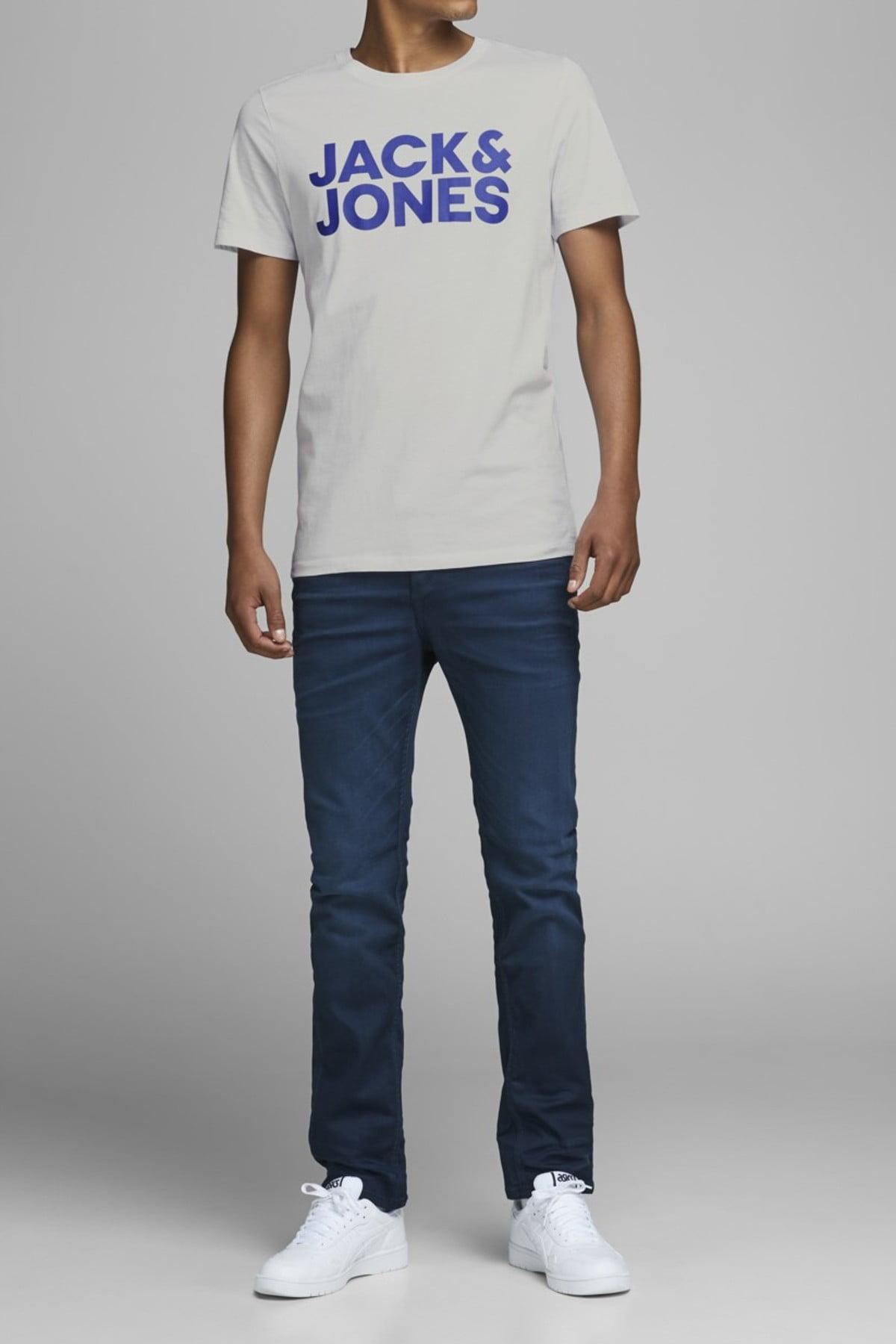 Jack /& Jones Mens JOR Nature Slim Fit Crew Neck T Shirt