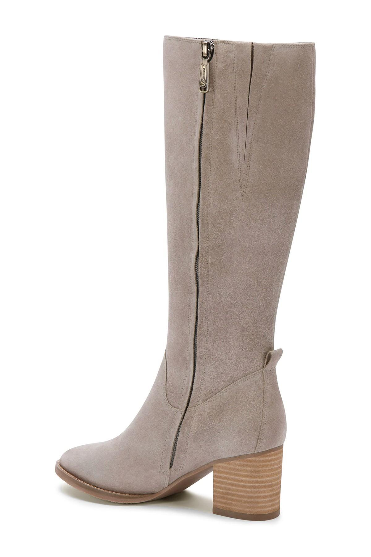 1bb3e820147 Lyst - Blondo Nicola Waterproof Suede Knee-high Boot in Gray