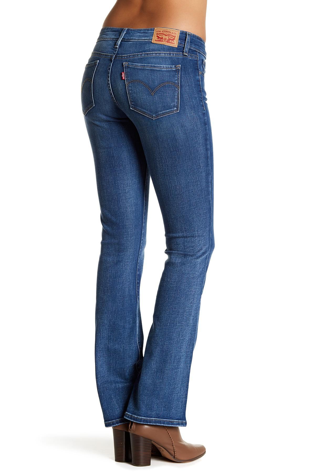 095735331e Lyst - Levi s 715 Bootcut Jean in Blue