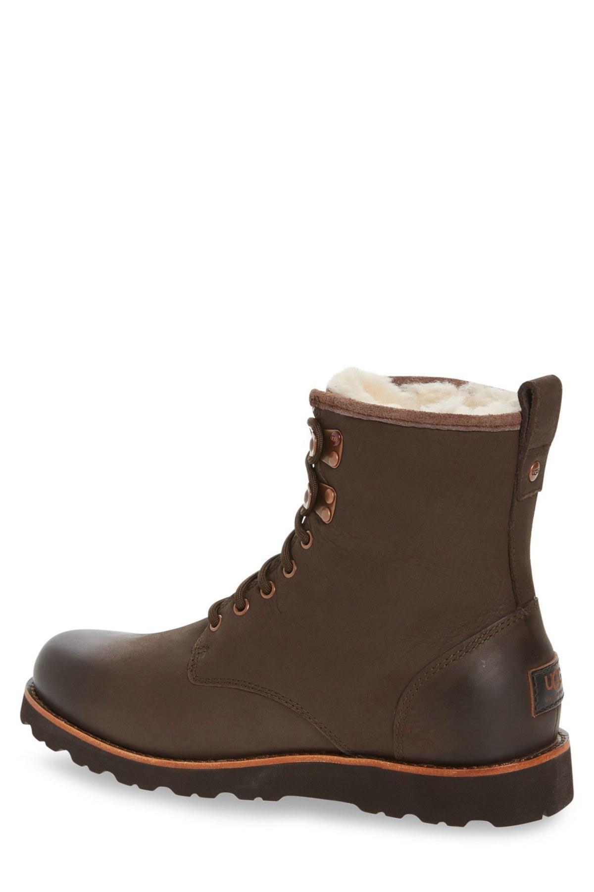 UGG Leather Hannen Plain Toe Genuine