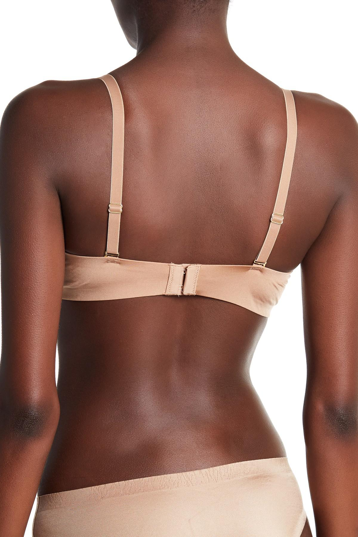 4133694b77c95 Lyst - Wacoal Intuition Wireless Push-up Bra (a-d Cups) in Brown