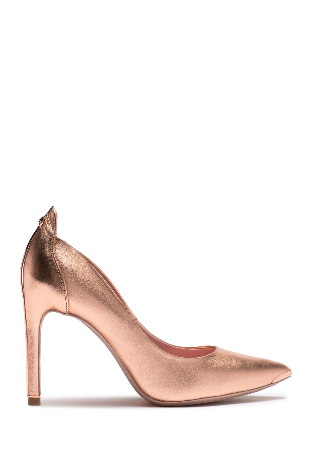 Ted Baker Melisah Leather Pump in Rose