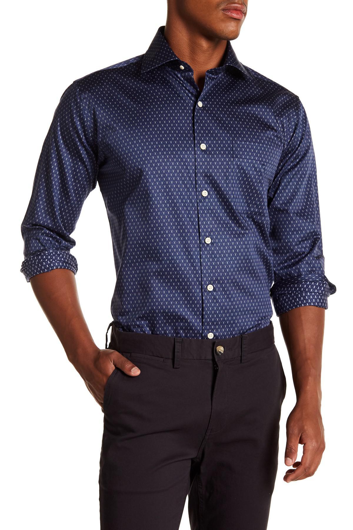 Mountainside Regular Fit Garment Dyed Long Sleeve Shirt Outlet Pick A Best lnBN0OYc