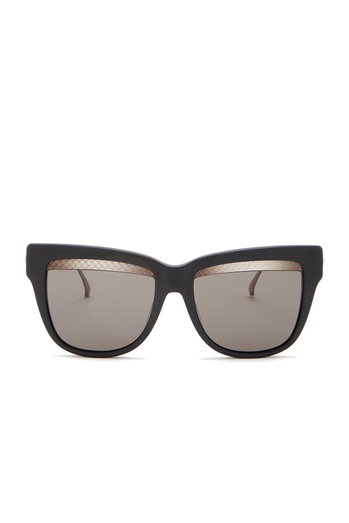 521b47de70 Bottega Veneta - Multicolor 53mm Cat Eye Sunglasses - Lyst. View fullscreen