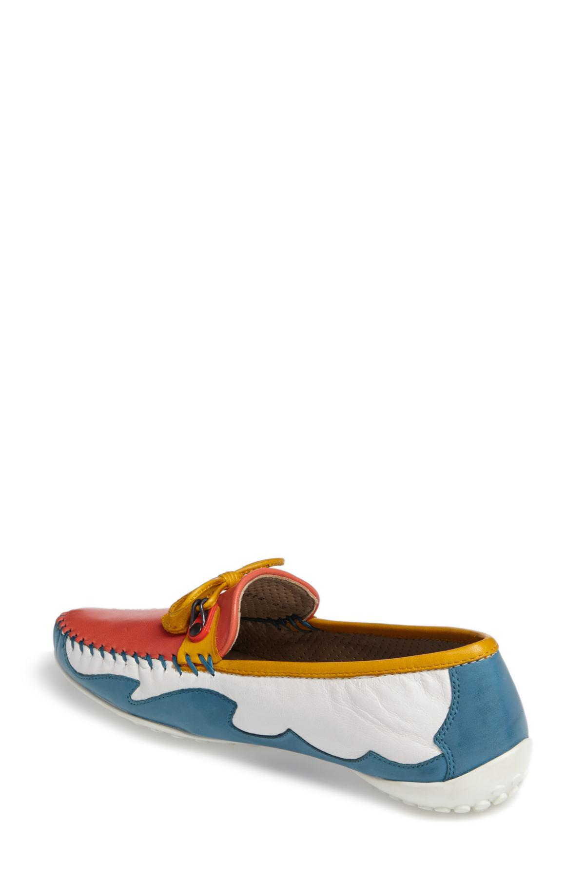 f003da568c1 Lyst - Robert Zur Mare Driving Shoe (women)
