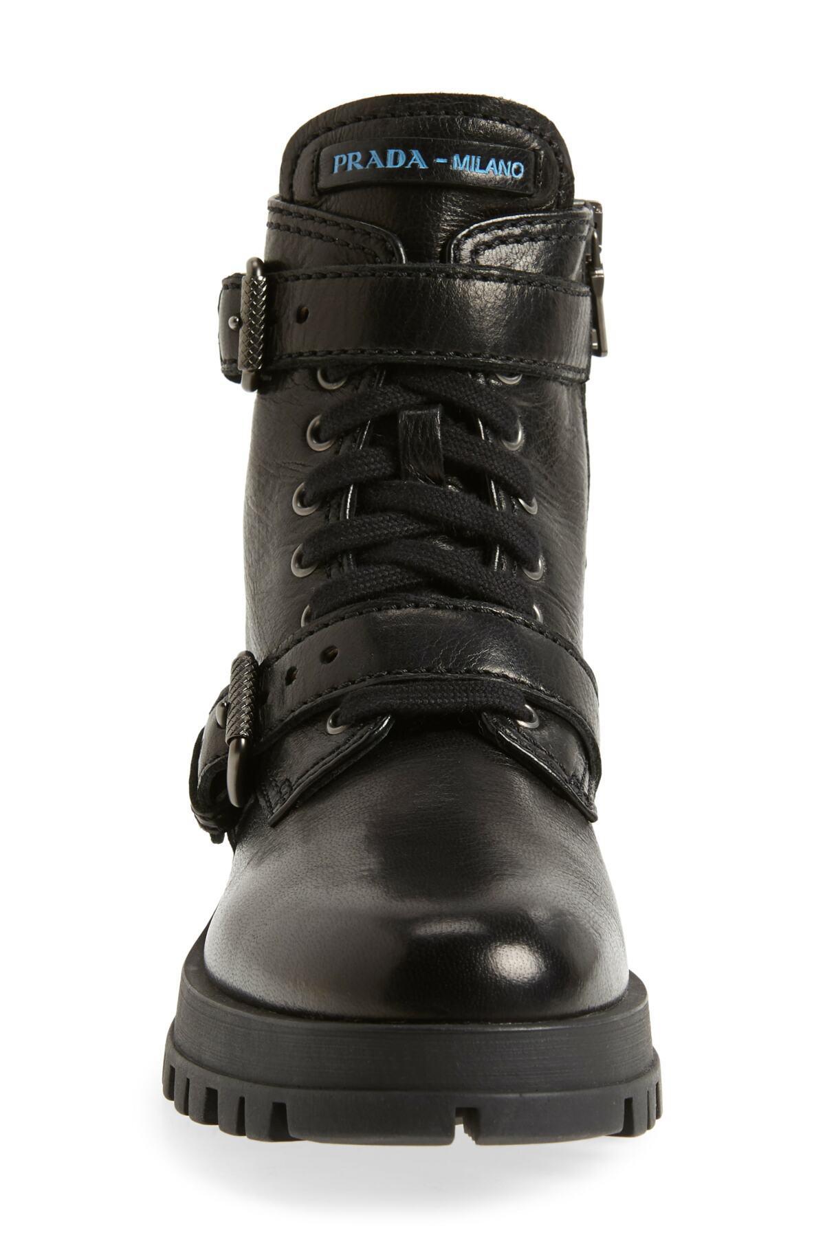 elegant in style top brands wholesale price Buckle Combat Boots (women)