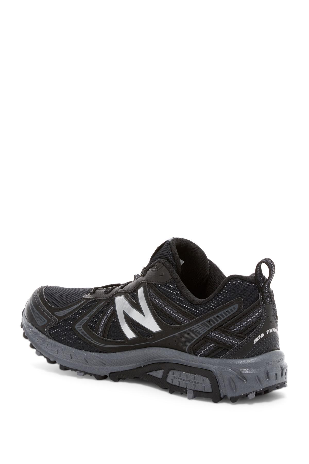 new product f1cf4 86eb9 Men's Black 410v5 Trail Running Shoe - Extra Wide Width Available
