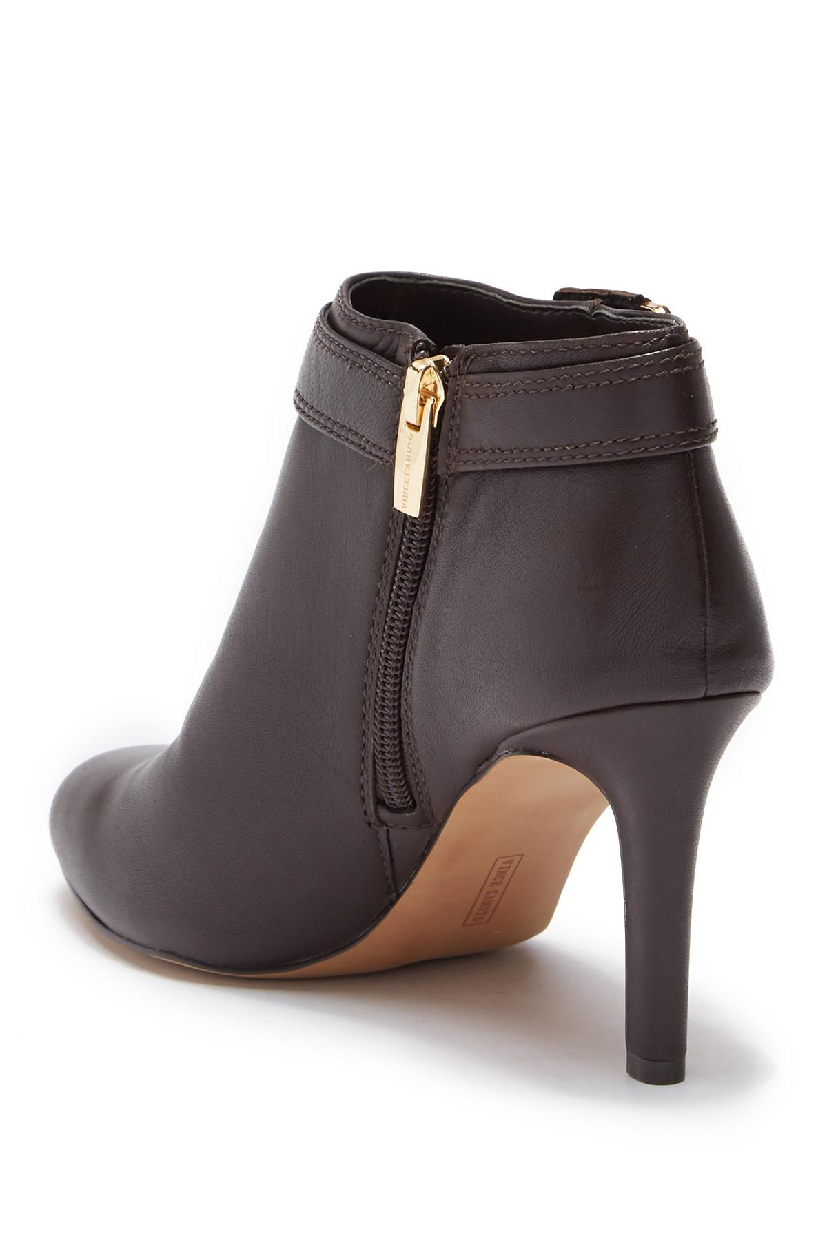 13bbfa3f6dc Lyst - Vince Camuto Chrissa Leather Bootie