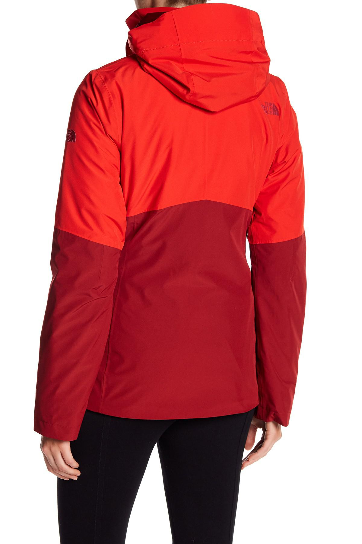 3d68edb5d The North Face Red Garner Triclimate Water Resistant Jacket