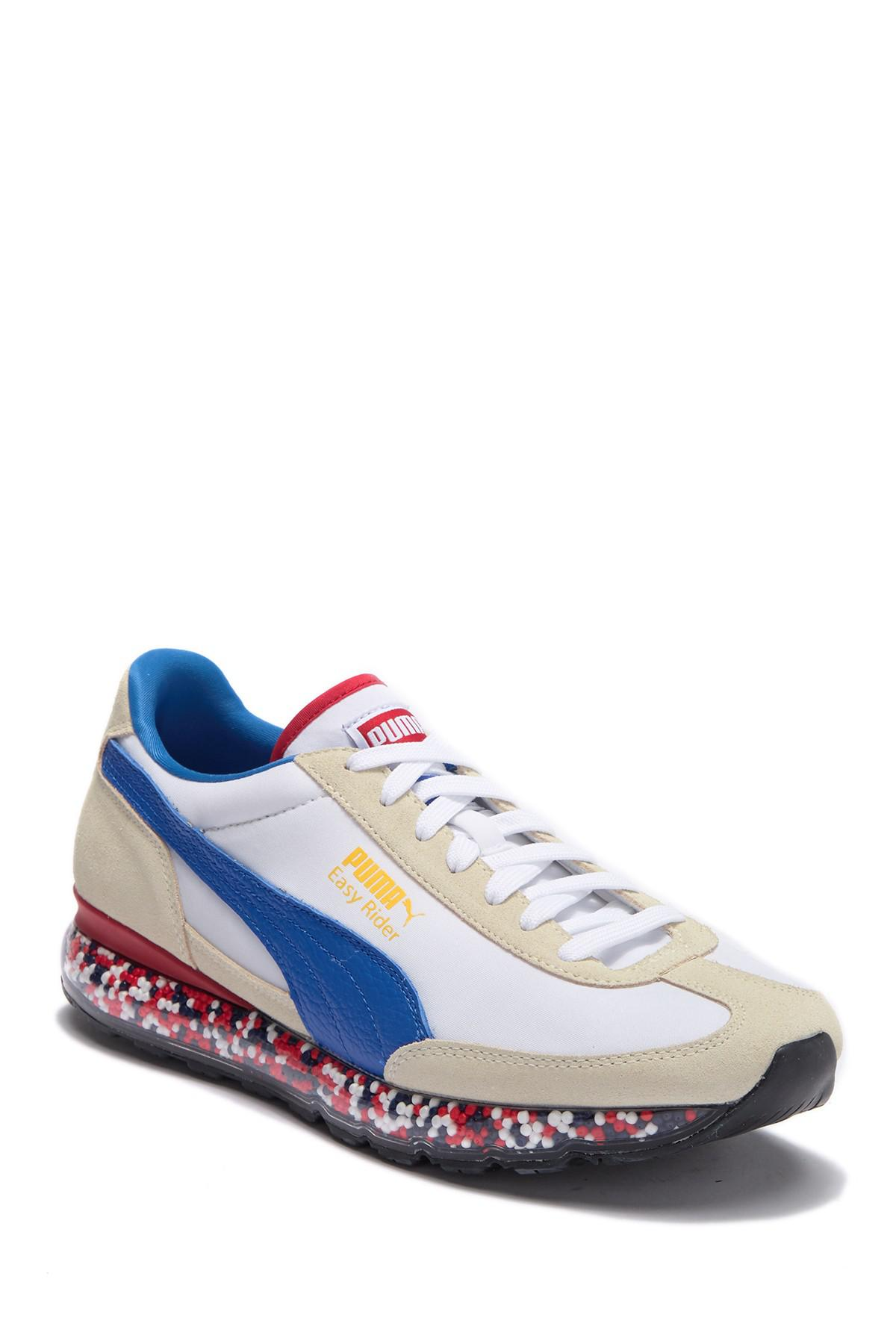 6970914fa66 Lyst - PUMA Jamming Easy Rider Contrast Suede Sneaker in White for Men