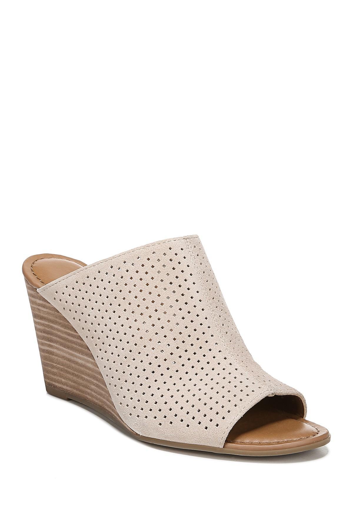 3441fe2ef0da Franco Sarto. Women s Yvette Stacked Wedge Sandal