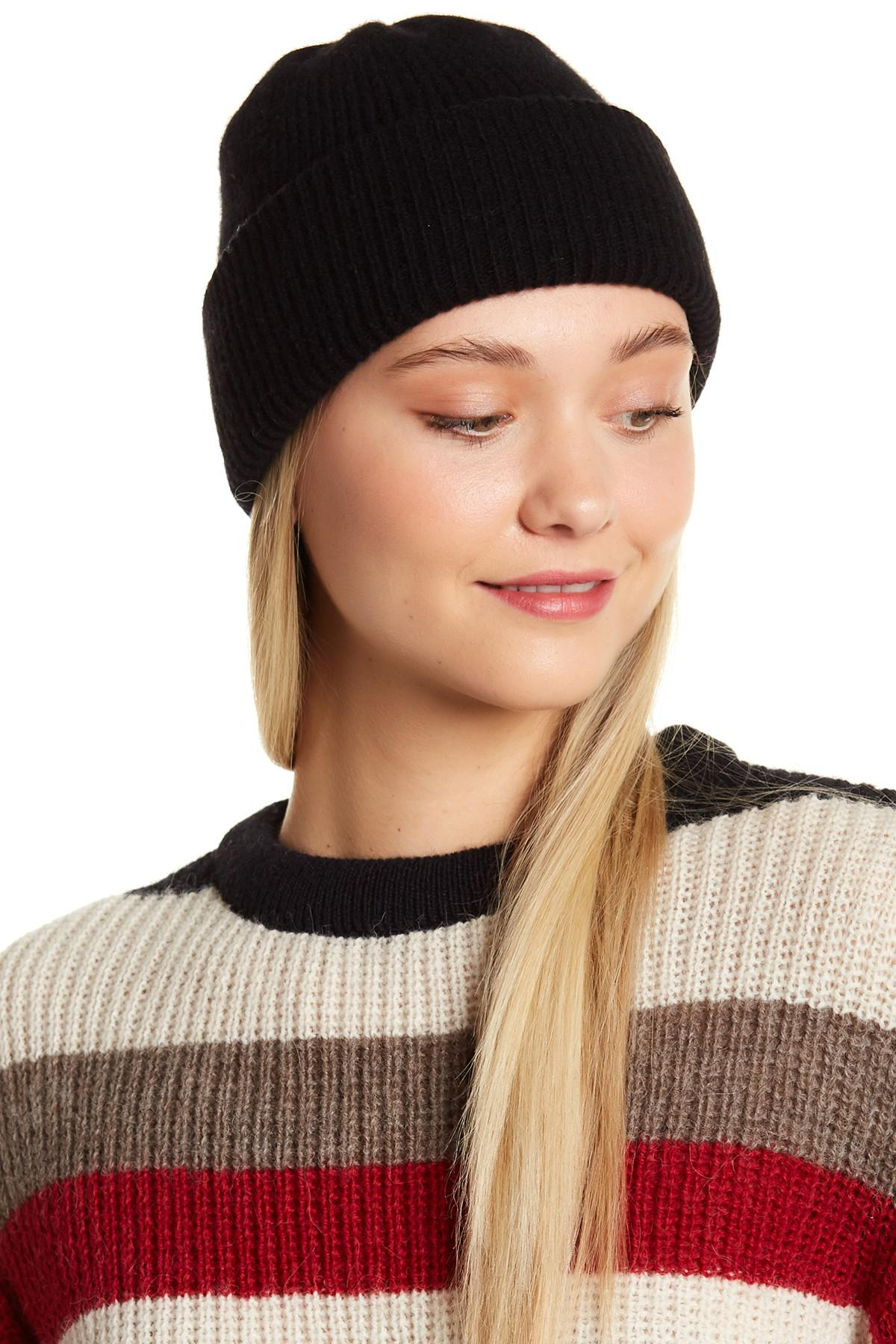 dcebdcc5fdb Gallery. Previously sold at  Nordstrom Rack · Women s Cashmere Beanies ...