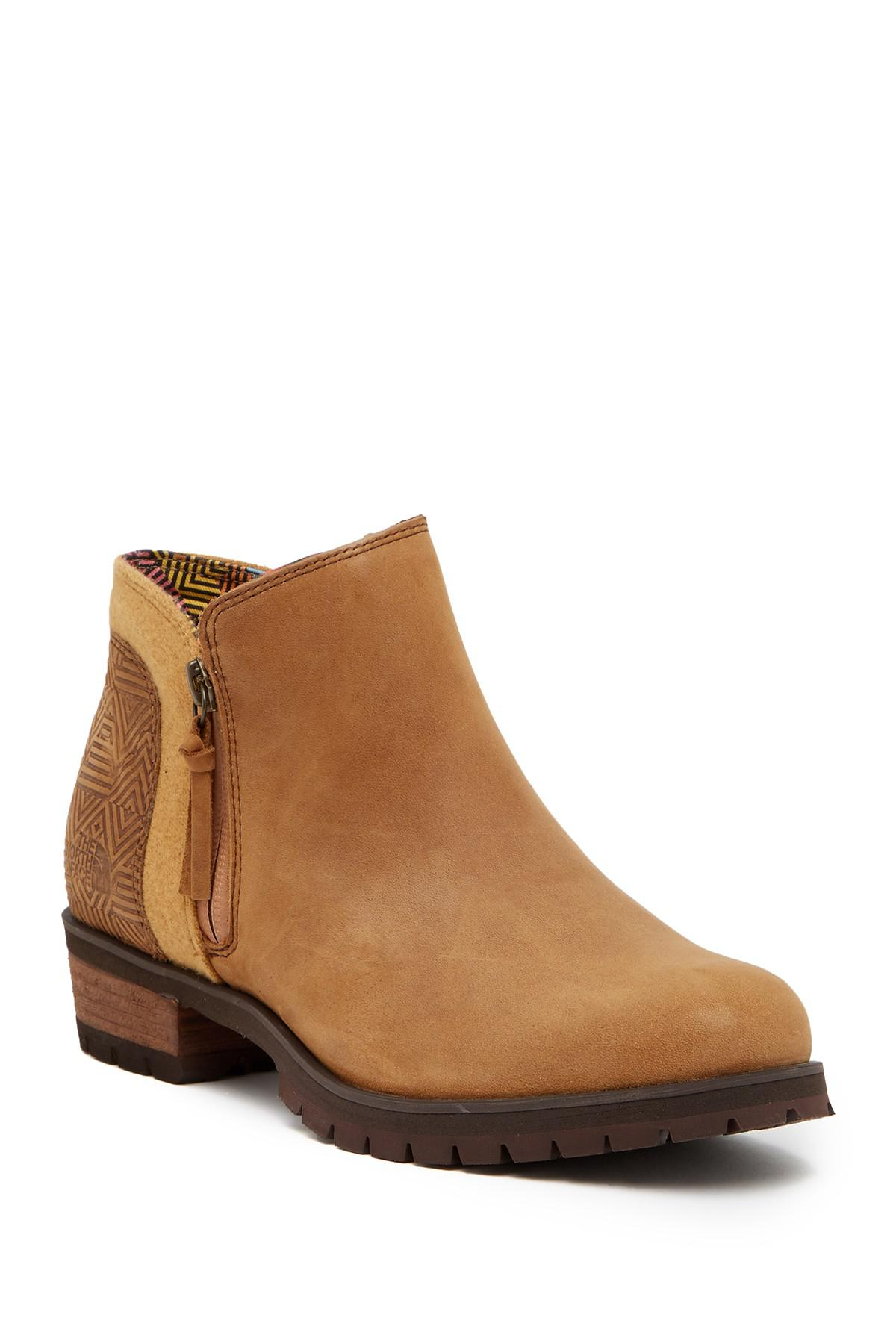 The North Face Bridget Waterproof Leather Ankle Boot 3UFfSGDyC