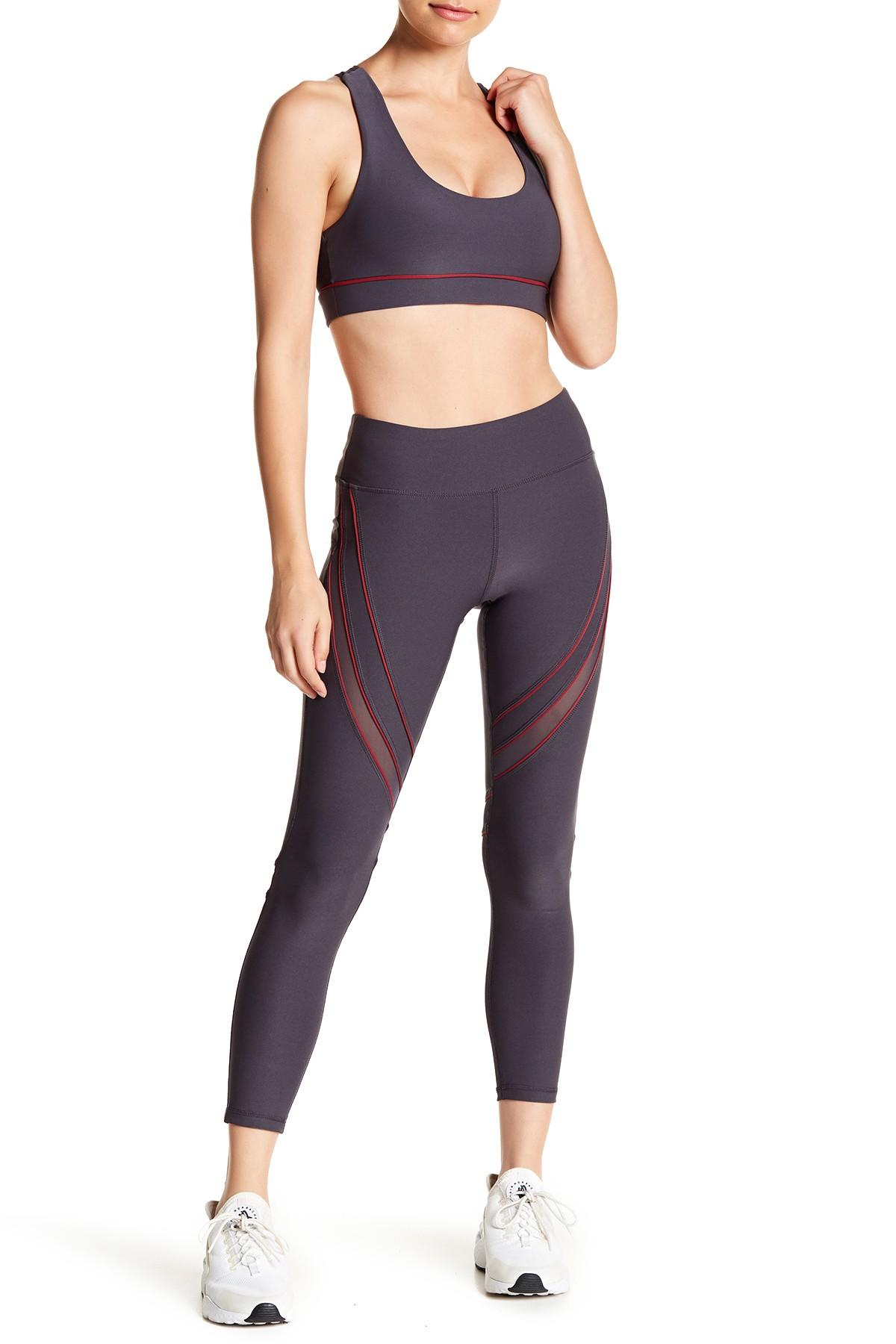 3140a3d884526 X By Gottex. Women's Mesh Panel Leggings