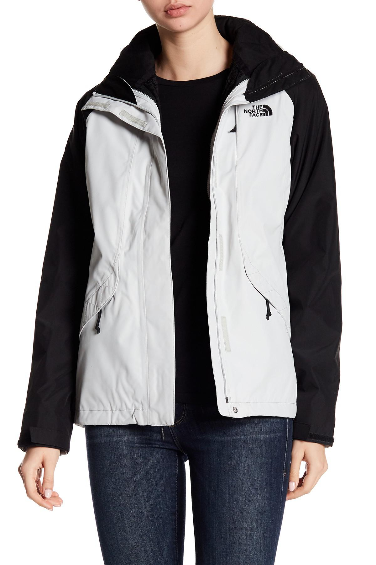 Lyst The North Face Boundary Faux Fur Lined Colorblock