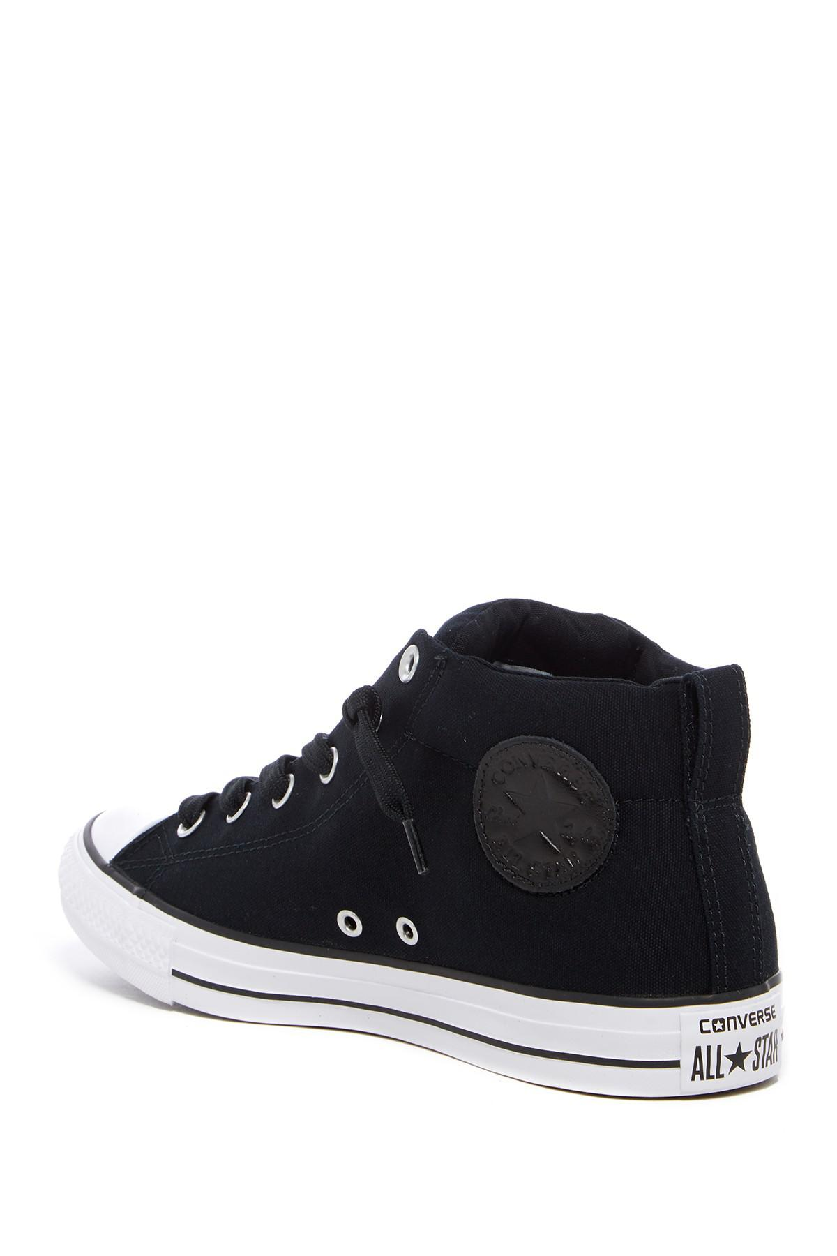 1b804d0d14b1 Converse - Black Chuck Taylor All Star Street Sneaker (unisex) - Lyst. View  fullscreen