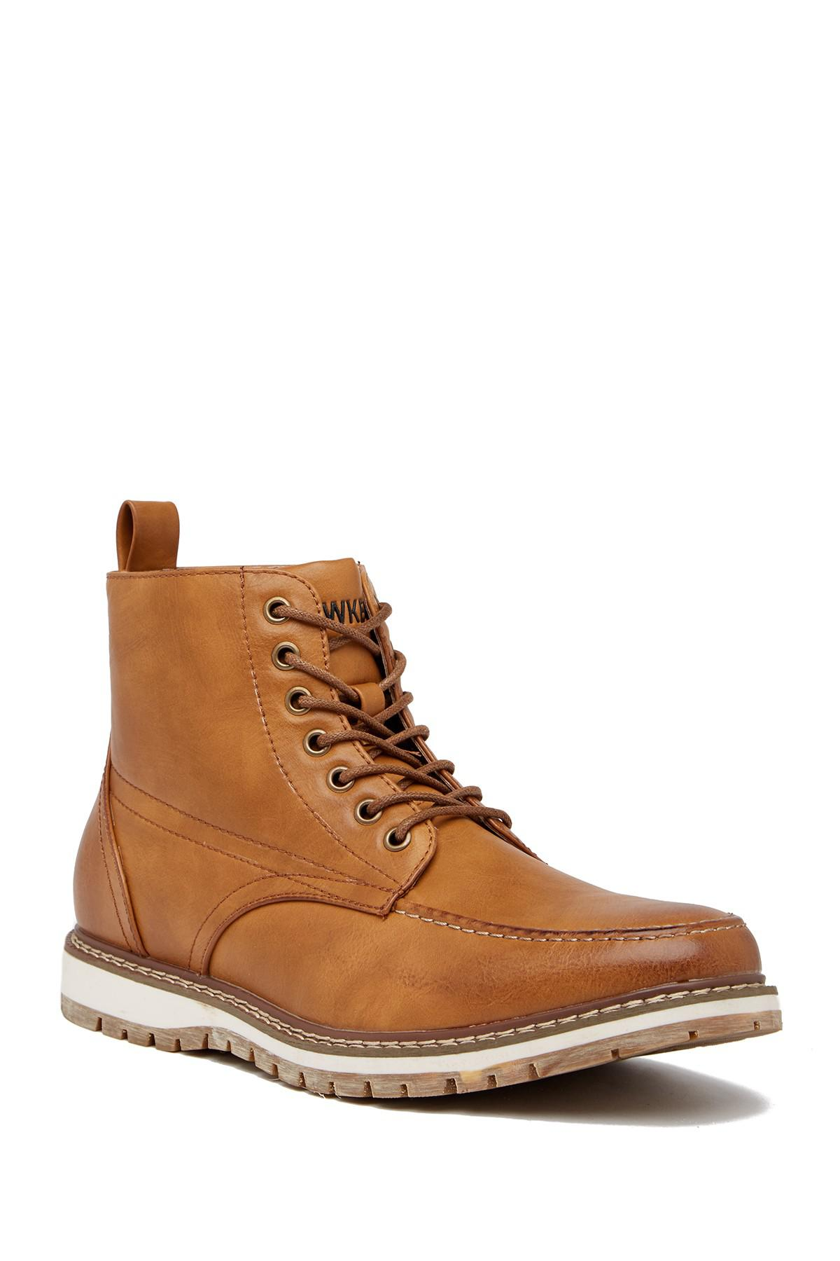 Hawke Amp Co Sierra Leather Boot In Brown For Men Lyst