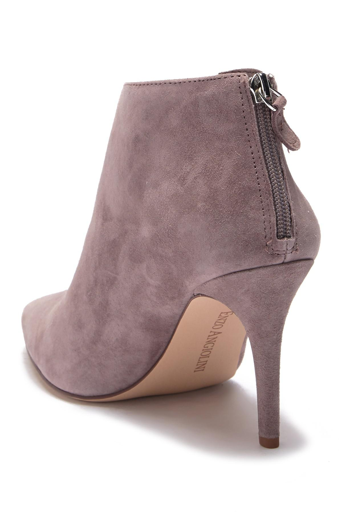 0549d5488 Enzo Angiolini - Multicolor Ruthely Suede Bootie - Lyst. View fullscreen