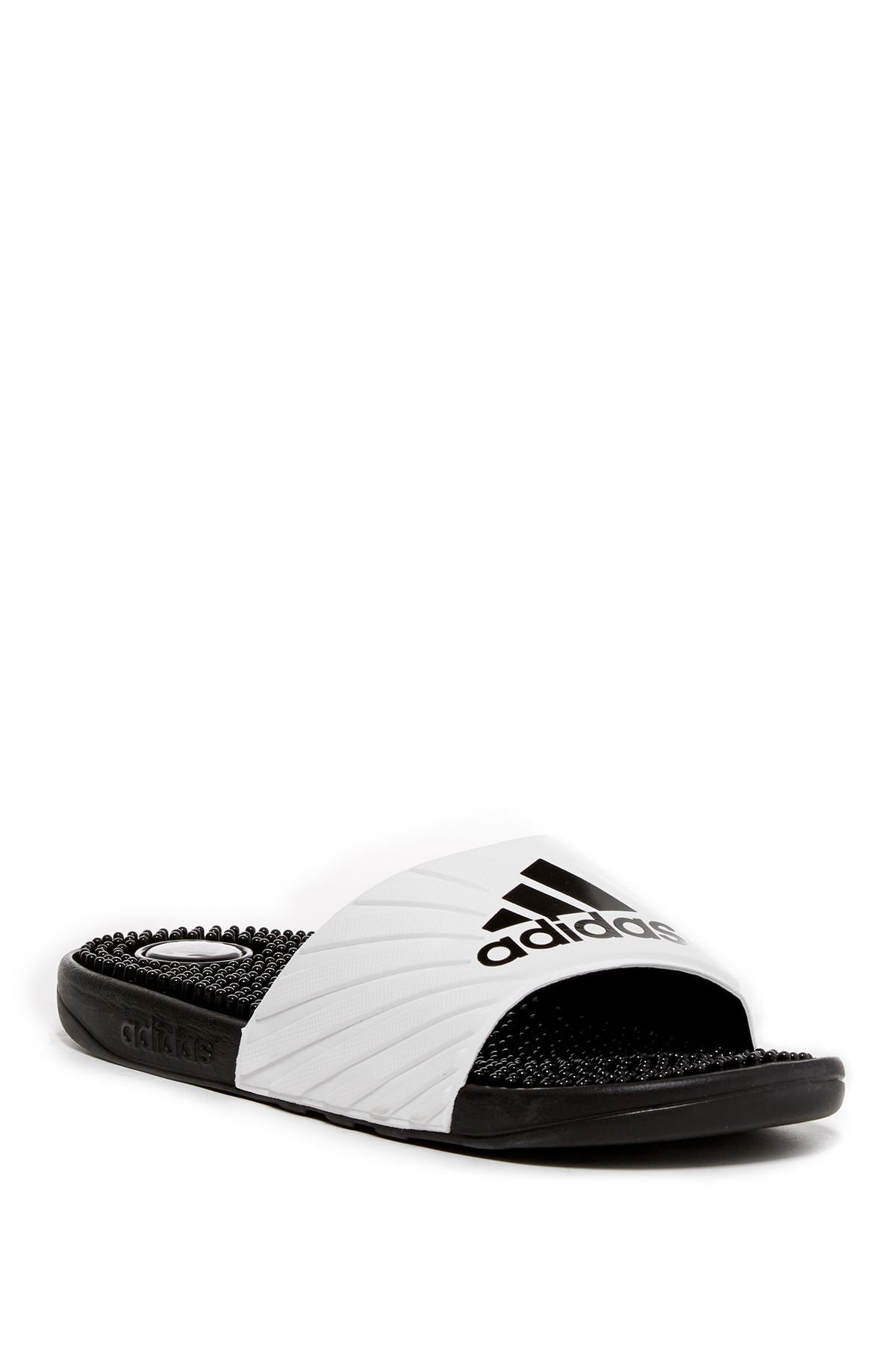 lyst adidas voloossage slide sandalo nero