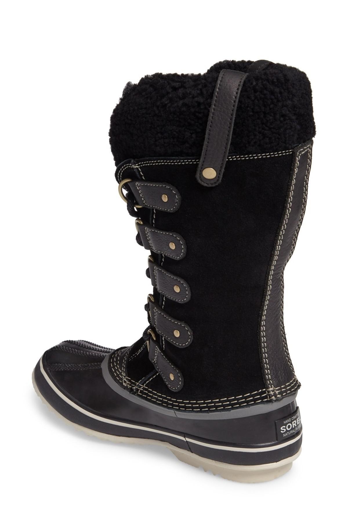 6ac5645e2ab Lyst - Sorel Joan Of Arctic Genuine Shearling Waterproof Boot (women ...