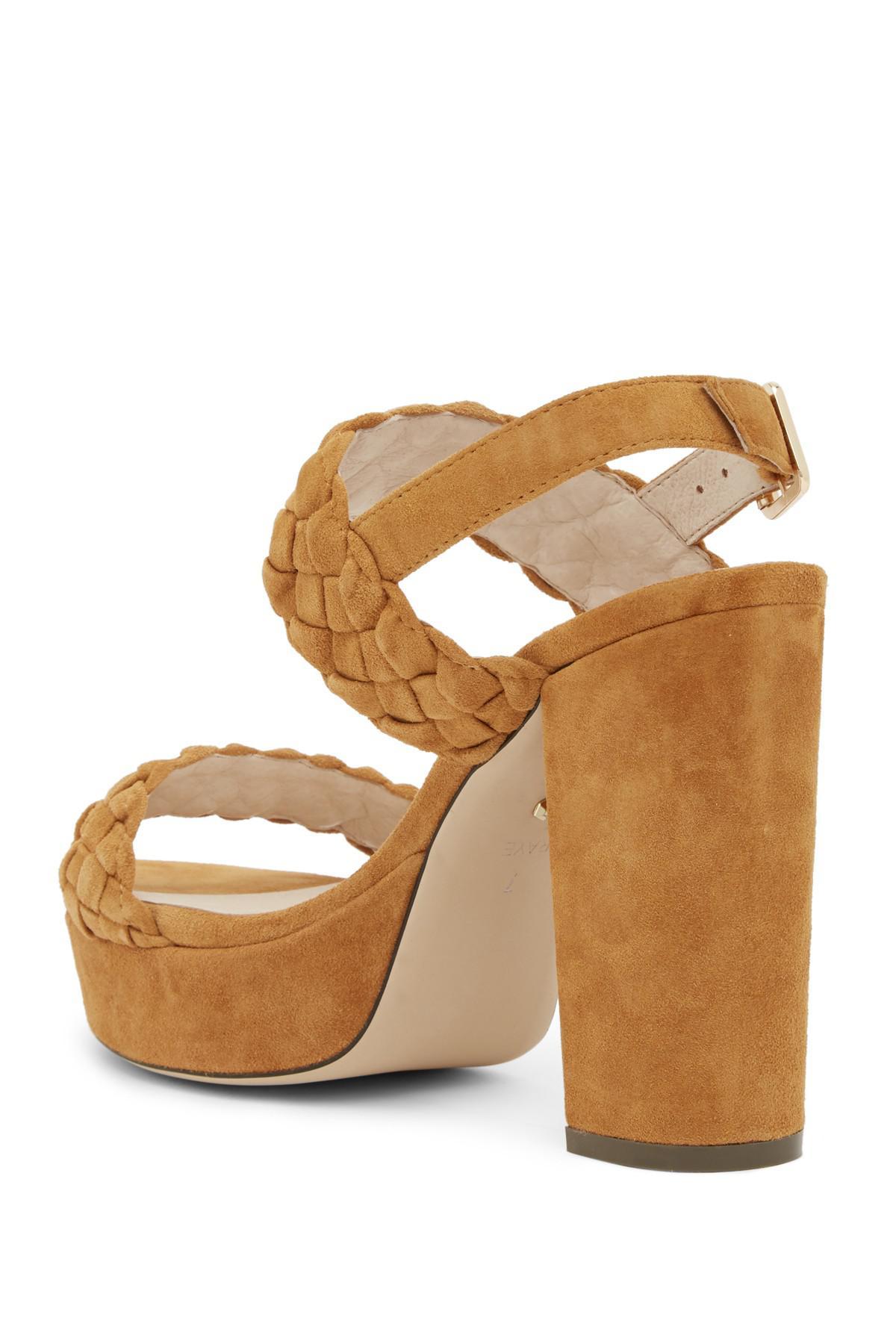 RAYE Haven Braided Platform Sandal 4MCkn5