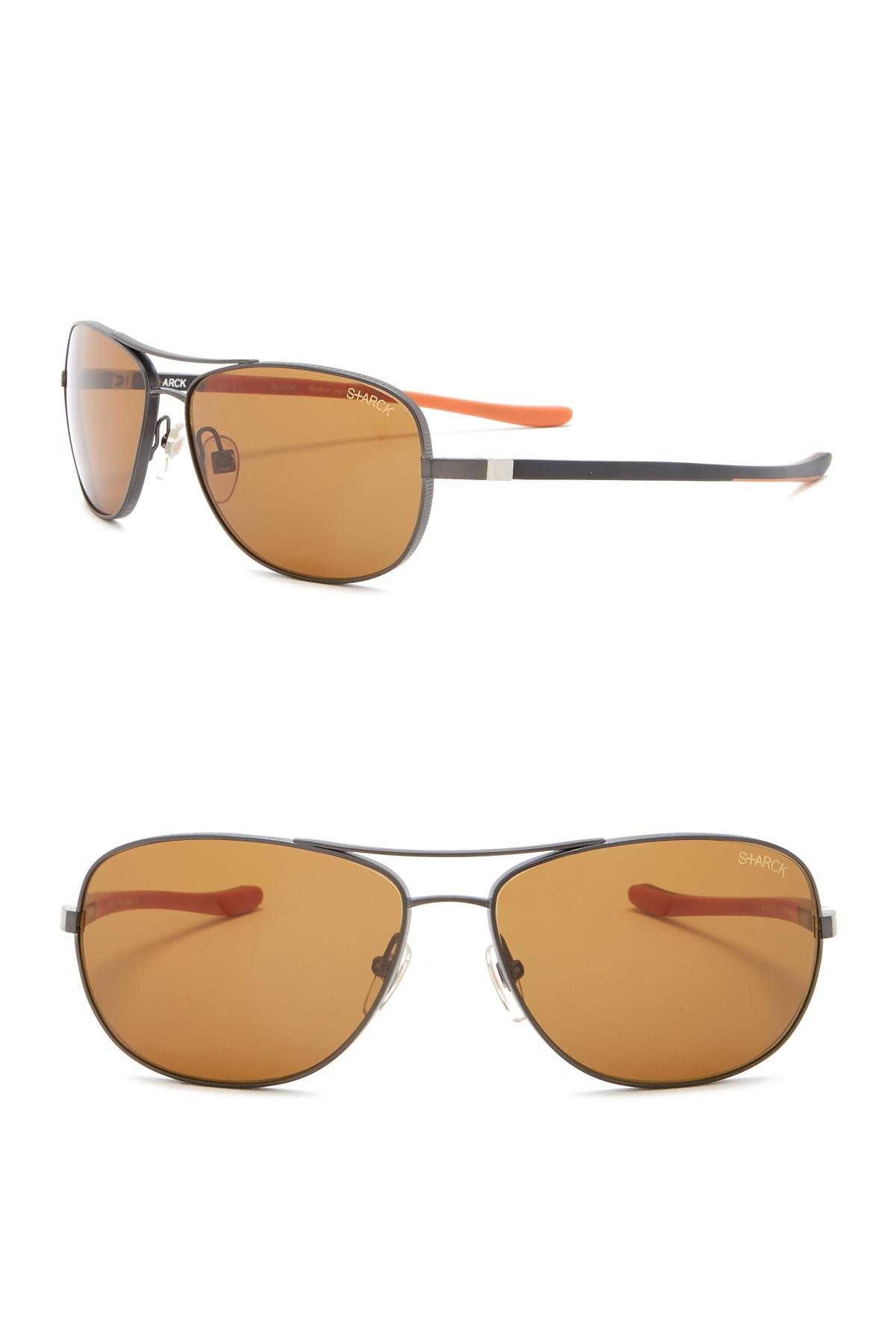f491c53824 Starck Eyes - Multicolor 61mm Aviator Sunglasses for Men - Lyst