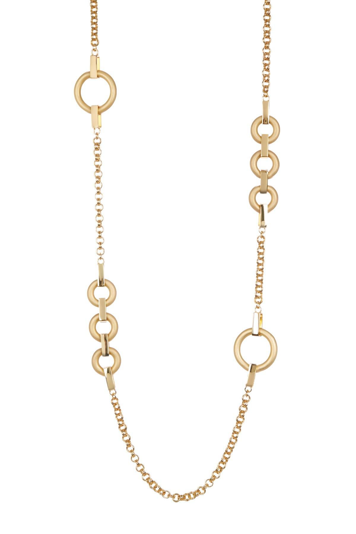 Trina Turk Long Illusion Link Necklace