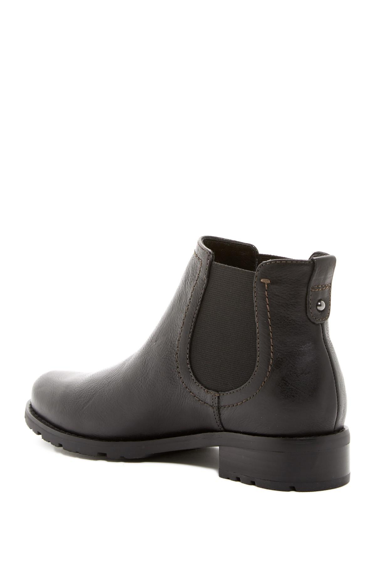 Lyst S 246 Fft Selby Leather Chelsea Boot In Black