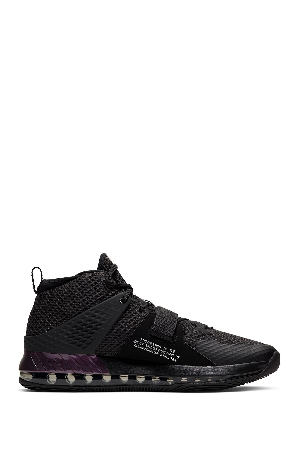 Nike Air Force Max Ii Basketball Shoe in Black for Men - Lyst